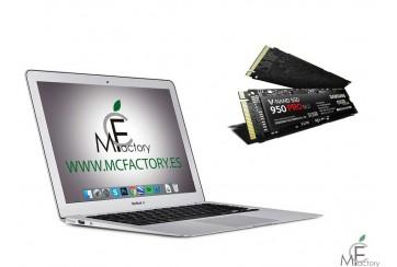 "Instalación de disco SSD para MacBook Air de 11"" o 13"""