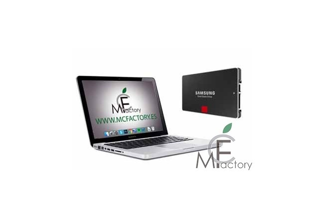 "Instalación de disco SSD para MacBook Pro Unibody de 13"", 15 o 17 pulgadas"""