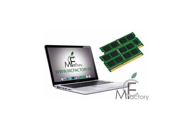 """Ampliación de memoria RAM para MacBook Pro Unibody de 13"""", 15"""" o 17"""""""