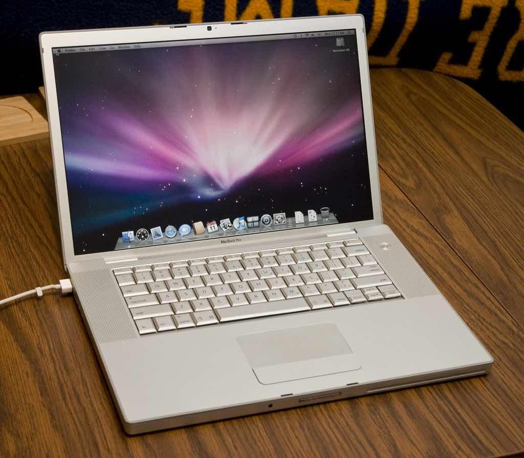 Ordenador MacBook Pro de 2007